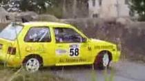 Suzuki Forsa spin at Malvern wall