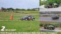Rhett Watson - BMW M3 E36 (2015 Barbados Rally Club Driver's Champion)