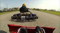 Kyle Proverbs - onboard - Sunday Race 3 - Bushy Park Karting