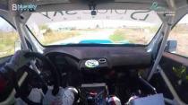 Rally Barbados 2018 - Rob Swann incar - SS18 - Subaru WRC S12B