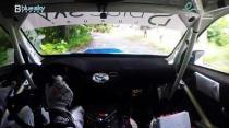 Rally Barbados 2018 - Rob Swann incar - SS2 - Subaru WRC S12B