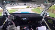 Rally Barbados 2018 - Rob Swann incar - SS16 - Subaru WRC S12B